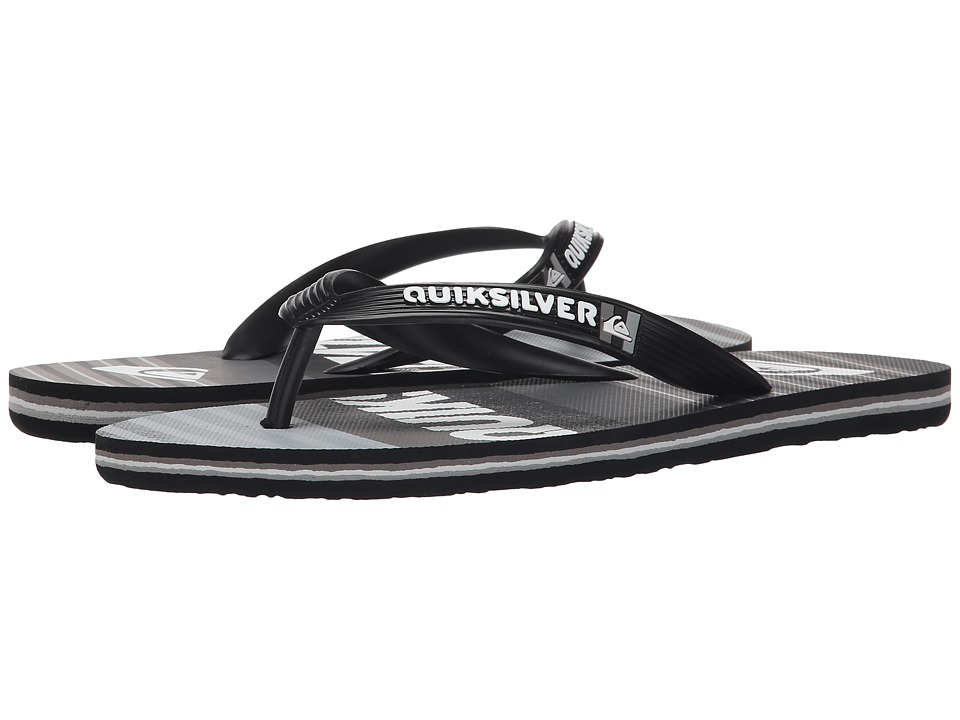 Quiksilver - Molokai Inclined (Black/Black/Grey) Men