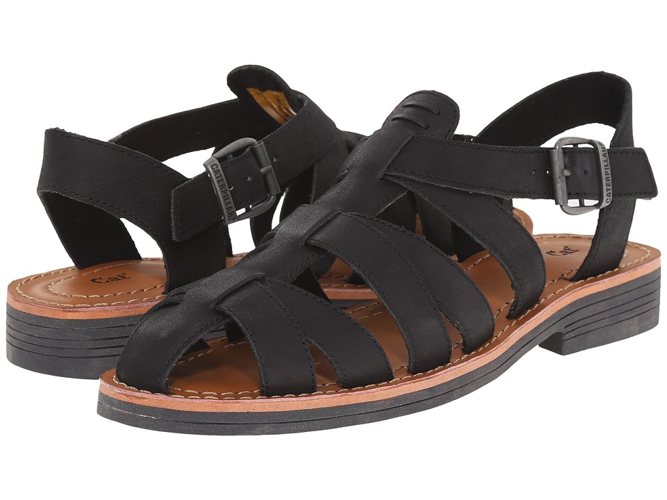 Caterpillar Casual Anders Black Womens Sandals