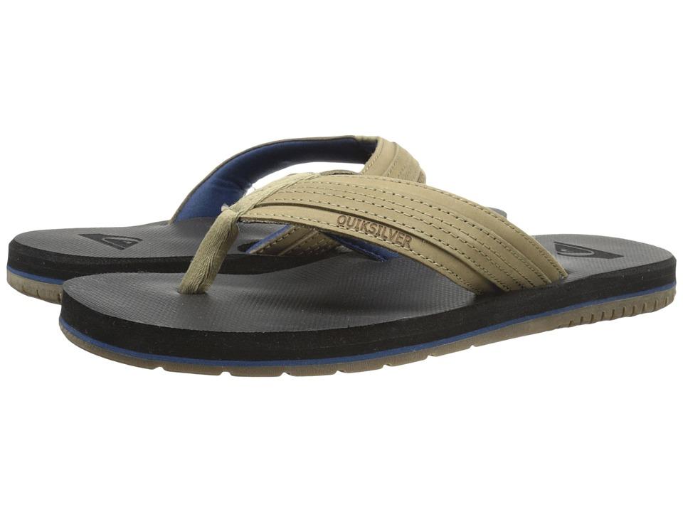 Quiksilver Coastal Oasis Brown/Brown/Blue Mens Sandals