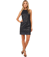 julia jordan - Laser Cut Sheath Dress
