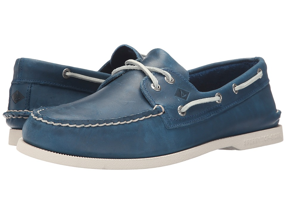 Sperry Top-Sider - A/O 2-Eye Sarape (Blue) Men