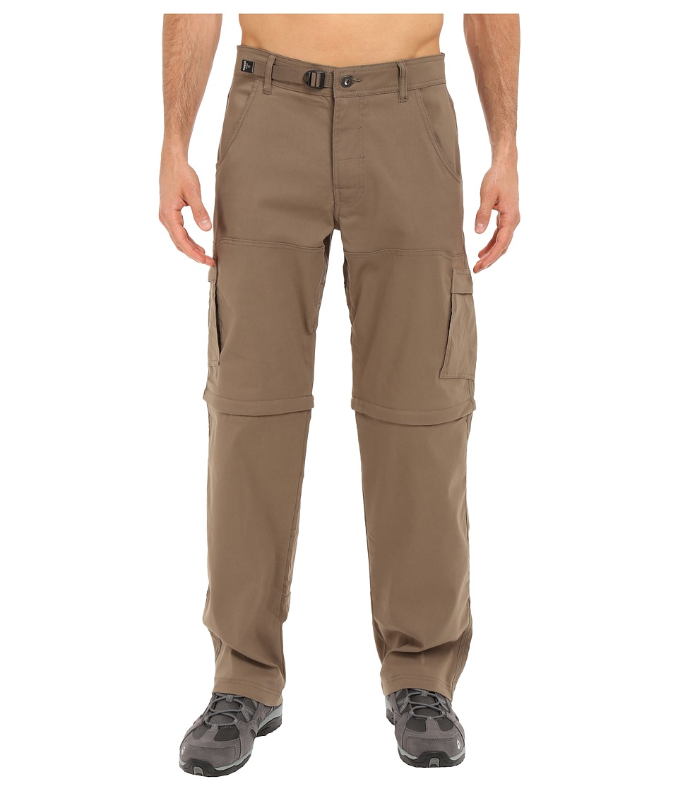 Prana Stretch Zion Convertible Pant Mud Mens Casual Pants