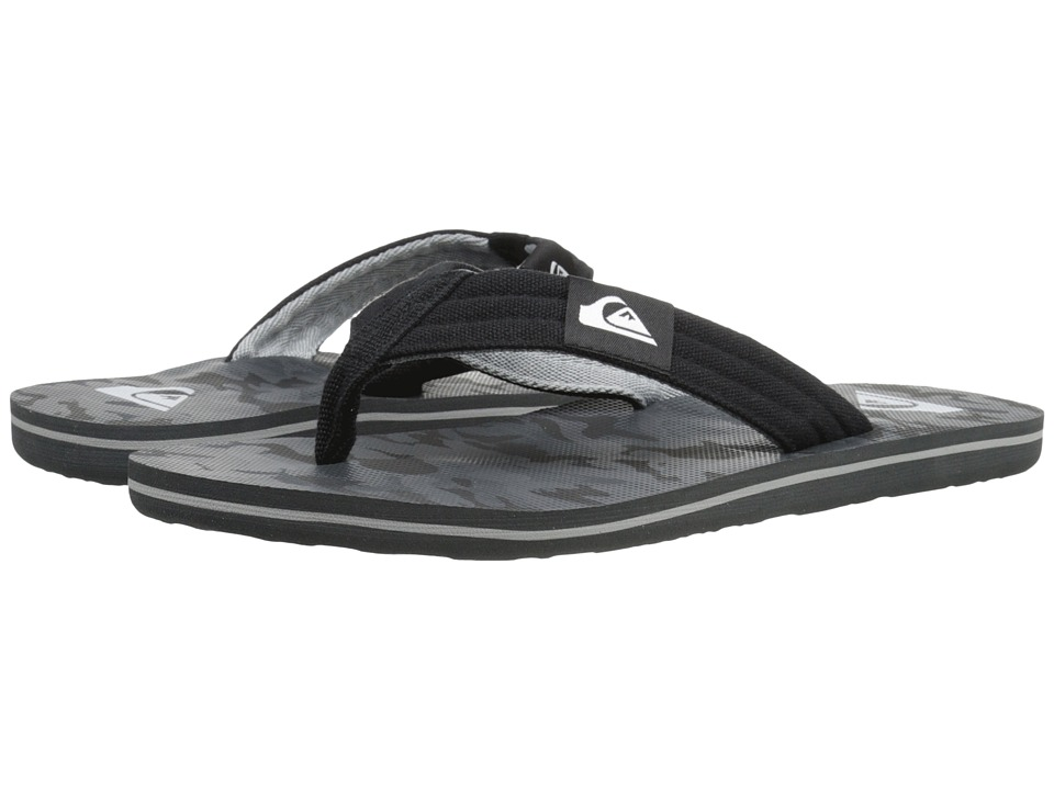 Quiksilver - Molokai Layback (Black/Black/Grey) Men