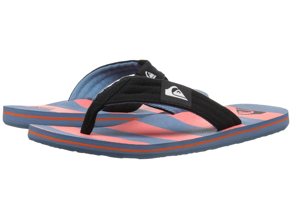 Quiksilver - Molokai Layback (Black/Red/Blue) Men