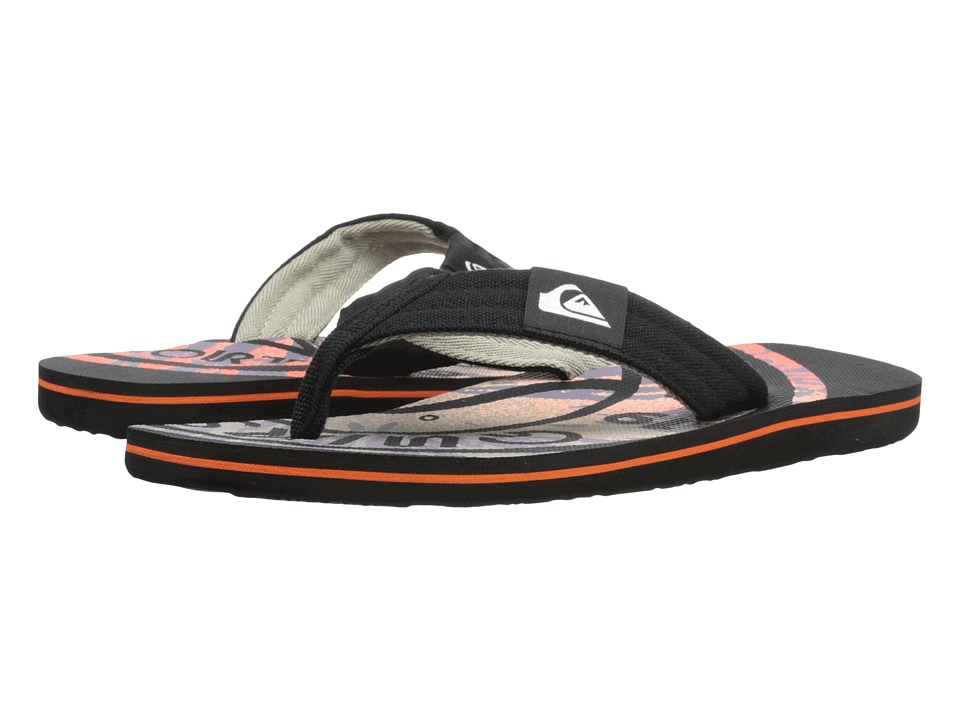 Quiksilver - Molokai Layback (Black/Red/Red) Men