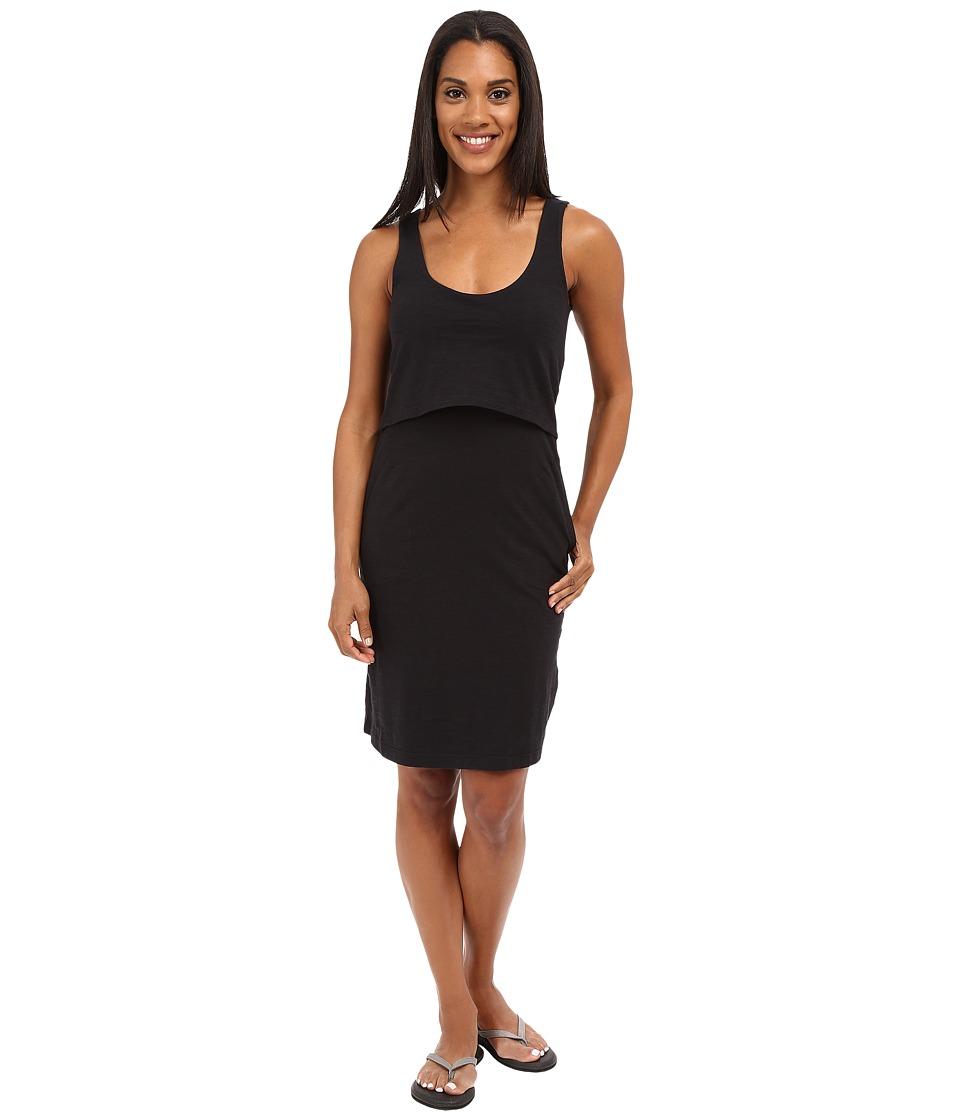 ToadampCo Paintbrush Tank Dress Black Womens Dress