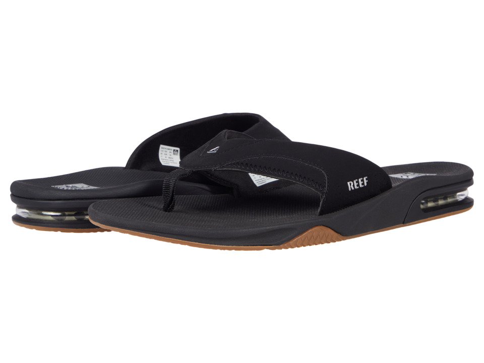 Reef Fanning (Black/Silver 2) Men