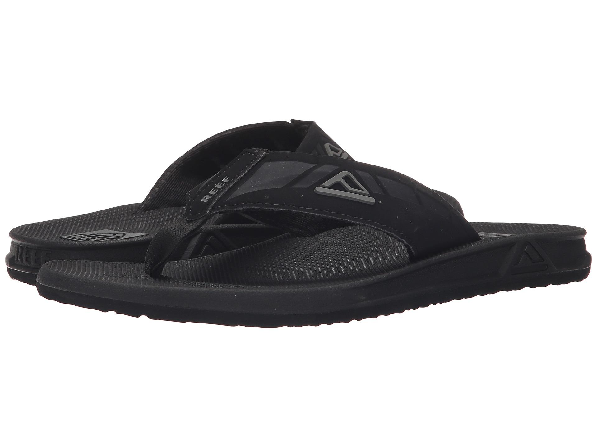 Black reef sandals - Black Reef Sandals 16