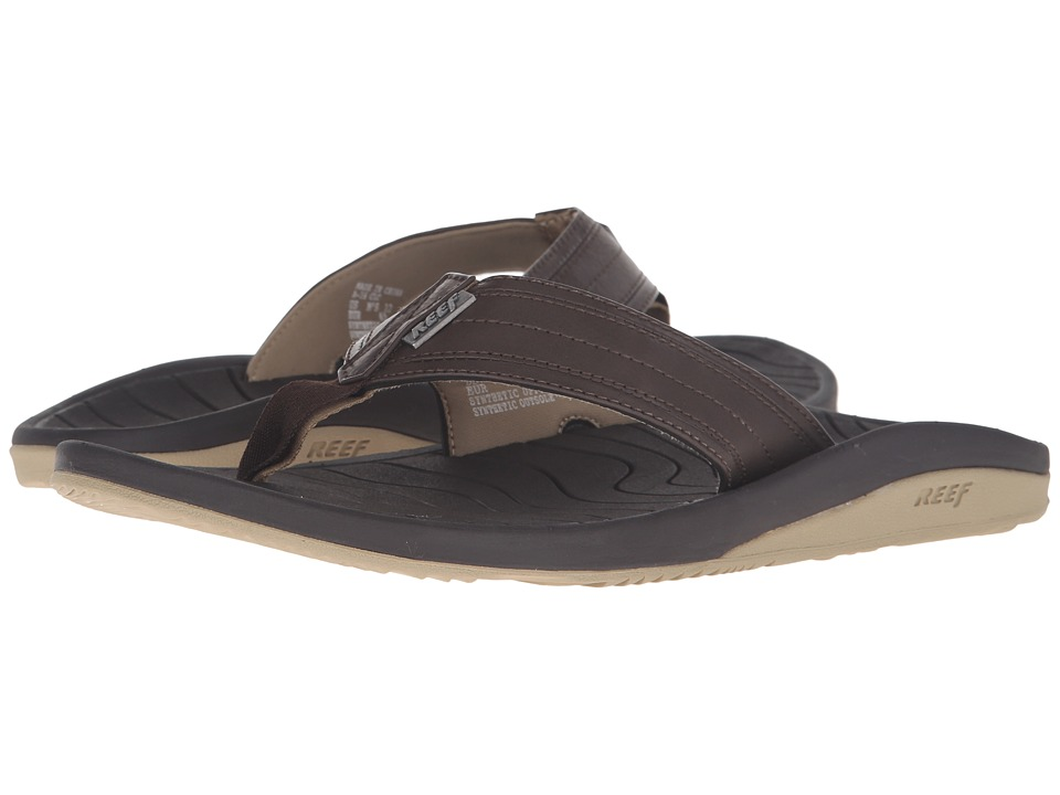 Reef - Swellular Cushion Lux (Brown/Gum) Men