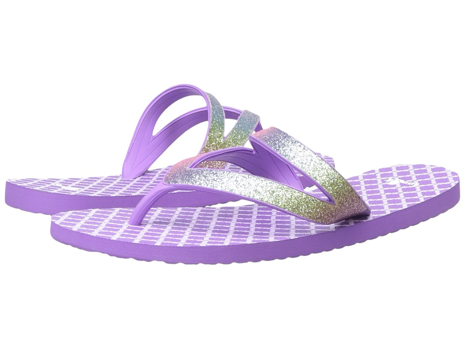 Sanuk Kids Lil Selene Crystal Little Kid/Big Kid Rainbow/Hot Orchid Girls Shoes
