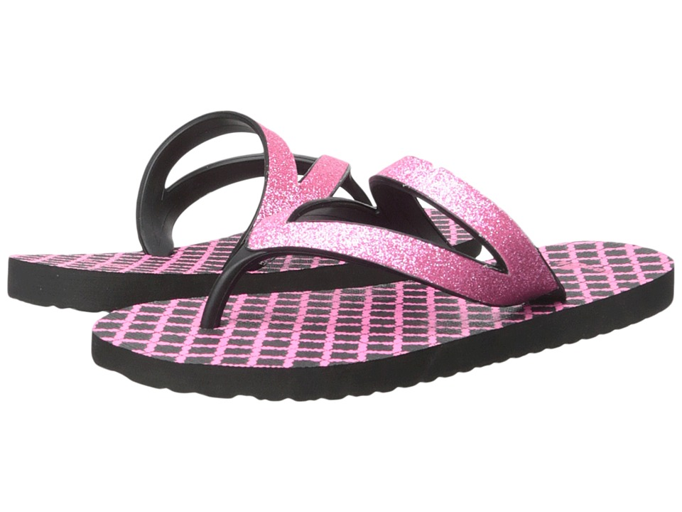 Sanuk Kids Lil Selene Crystal Little Kid/Big Kid Pink/Black Girls Shoes