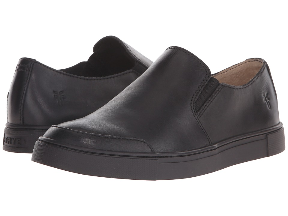 Frye - Gemma Slip (Black Leather) Women