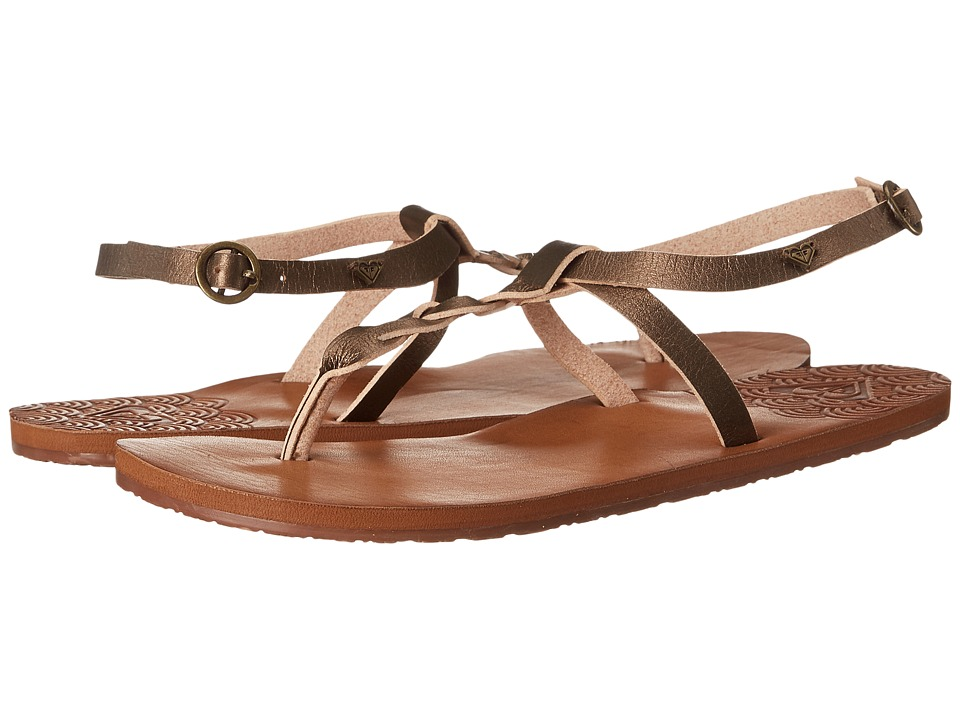 Roxy Arinna Gold Womens Sandals