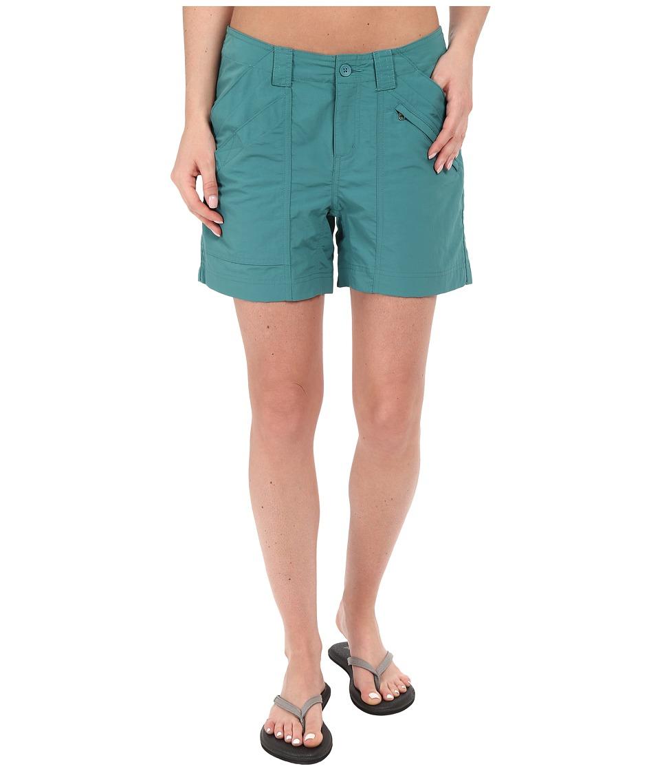 Royal Robbins Backcountry Short Sea Glass Womens Shorts