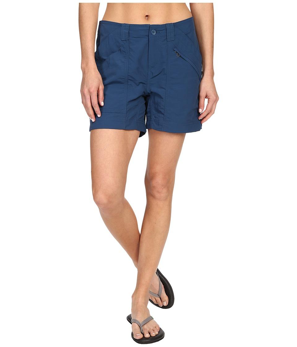Royal Robbins Backcountry Short Phoenix Blue Womens Shorts