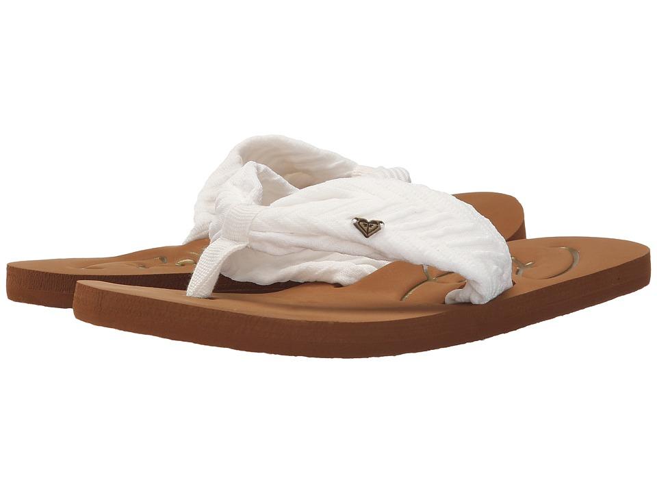 Roxy Caribe II White Womens Sandals