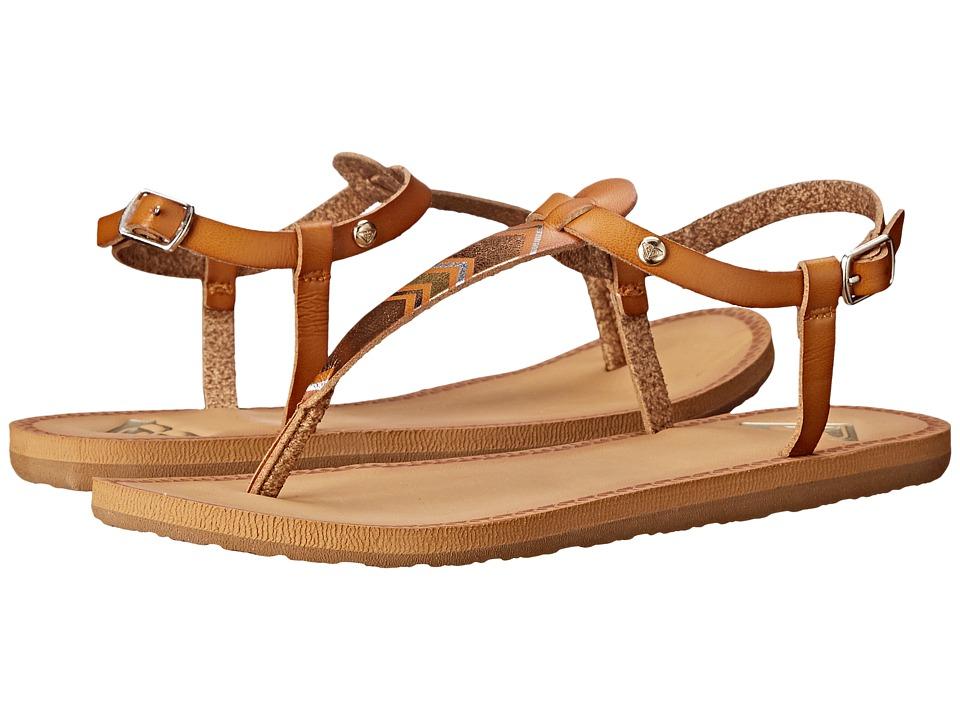 Roxy Dominica Tan Womens Shoes