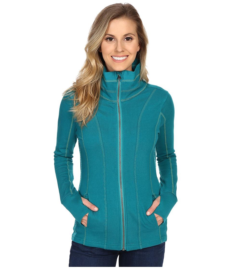 Kuhl Kember Jacket Seaglass Womens Sweatshirt