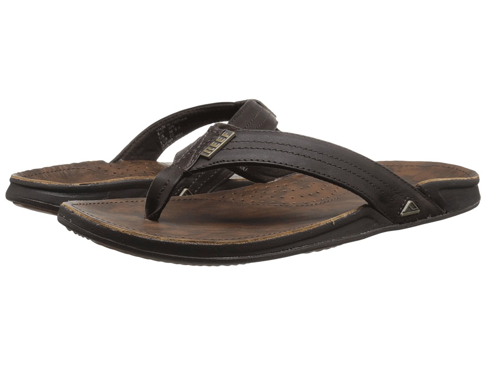 Reef - J-Bay III (Dark Brown) Men's Sandals