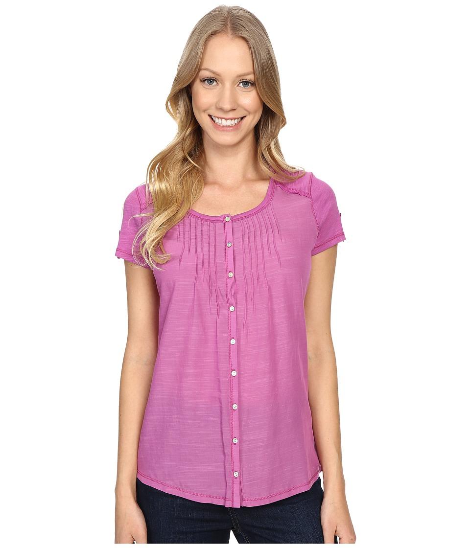 Kuhl Geneva Short Sleeve Shirt Wild Rose Womens Short Sleeve Pullover