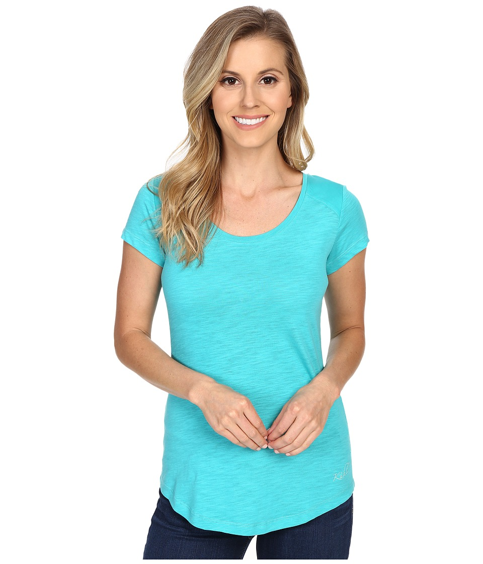 Kuhl Khloe S/S Top Mountain Jade Womens Short Sleeve Pullover