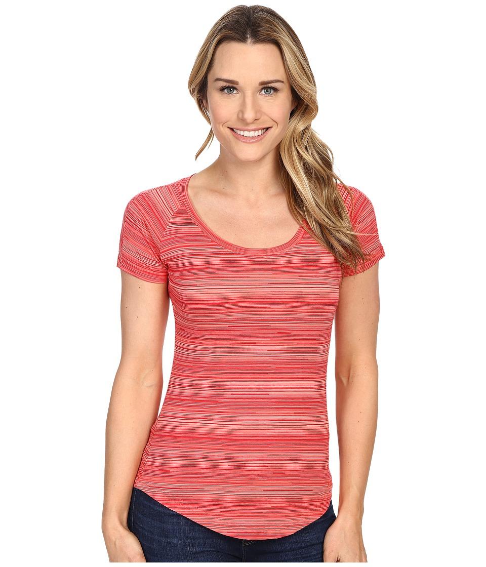 Kuhl Bella Scoop Poppy Stripe Womens Short Sleeve Pullover