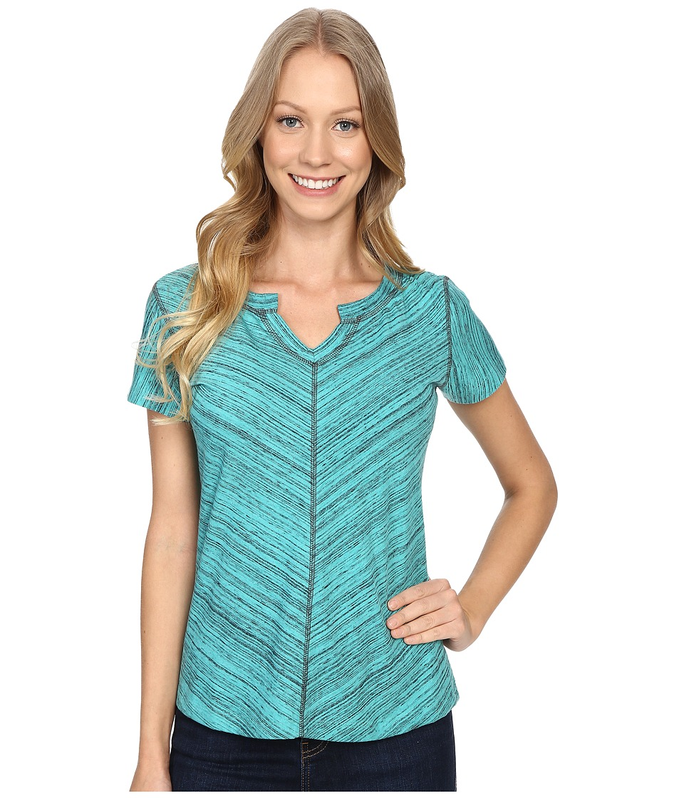 Kuhl Alisse Top Mountain Jade Womens Short Sleeve Pullover
