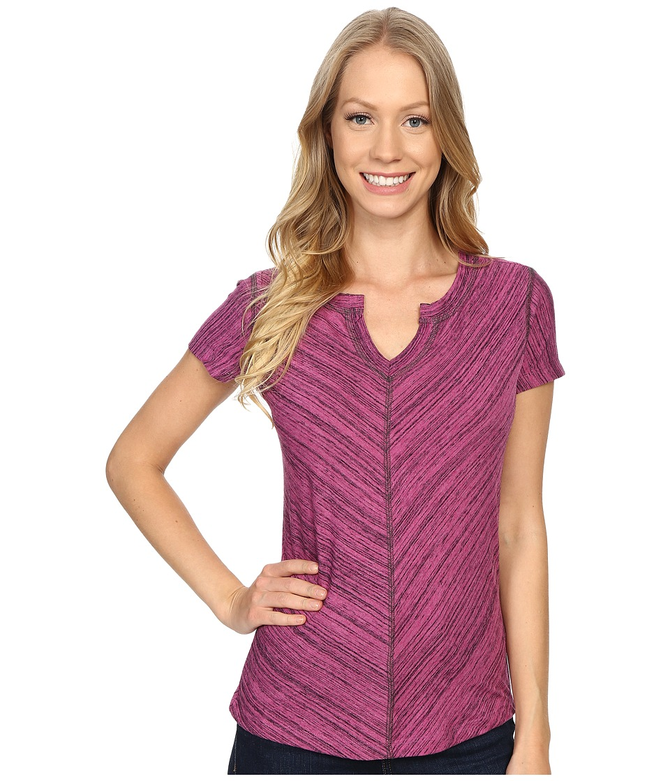 Kuhl Alisse Top Wild Rose Womens Short Sleeve Pullover