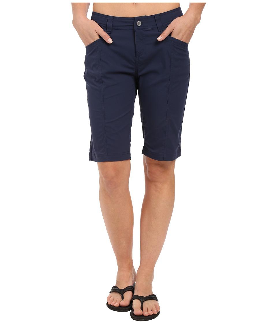 Royal Robbins Discovery Bermuda Deep Blue Womens Shorts