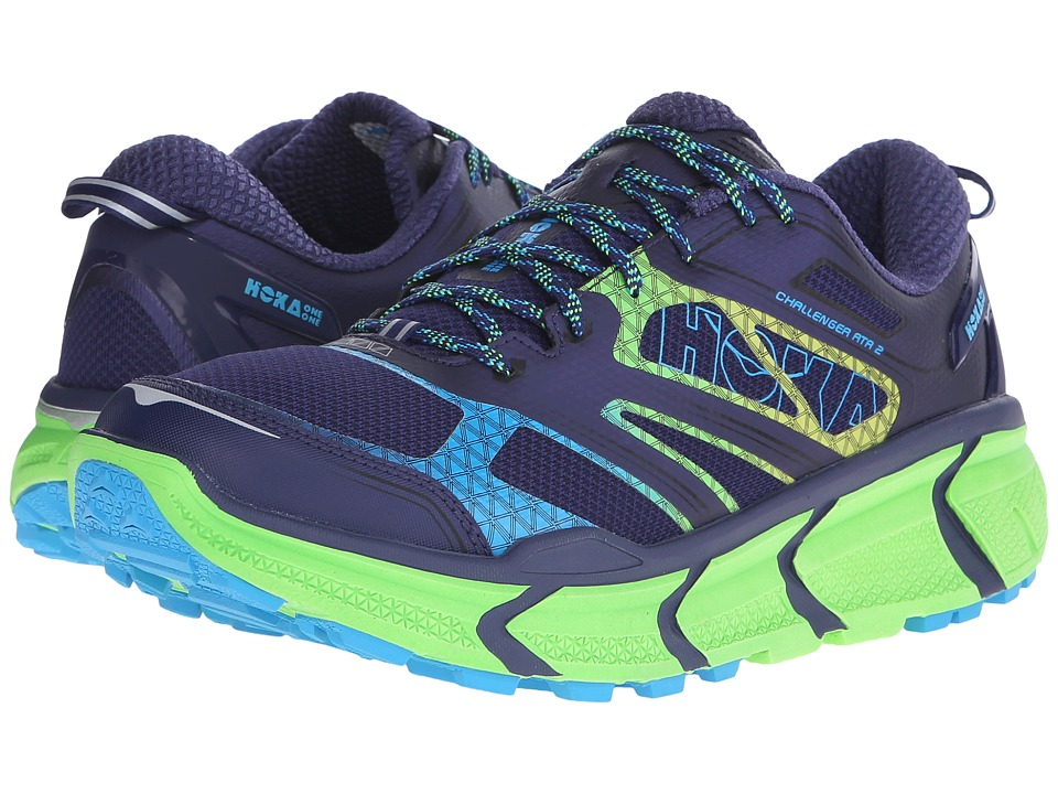 Hoka One One Challenger ATR 2 Astral Aura/Neon Green Mens Running Shoes