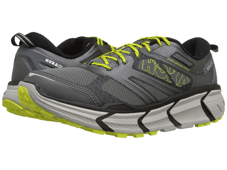 Hoka One One Challenger ATR 2 Grey/Citrus Mens Running Shoes