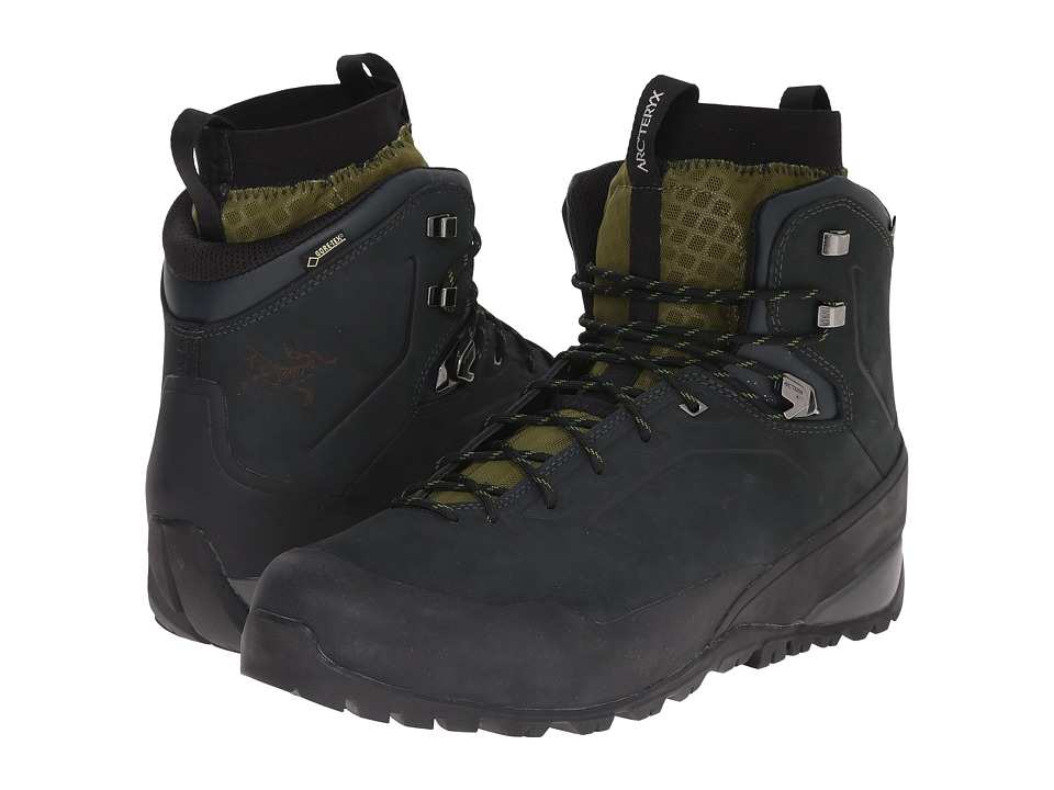 Arcteryx Bora Mid Leather GTX Hiking Boot Deep Dusk Arc/Bonsai Arc Mens Shoes