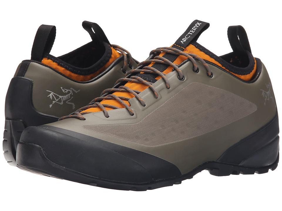 Arcteryx Acrux FL Dark Greystone Arc/Amber Arc Mens Shoes