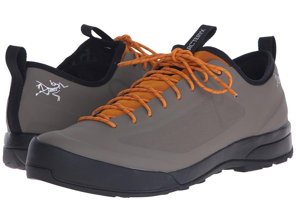 Arc'teryx - Acrux SL Approach Shoe (Greystone Arc/Amber Arc) Mens Shoes