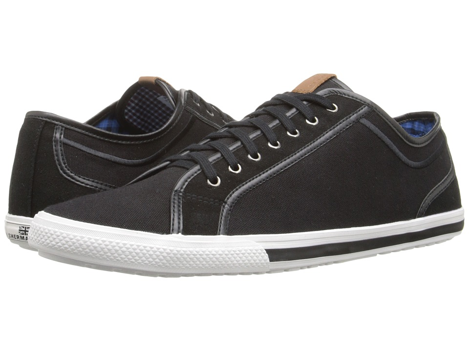 Ben Sherman Chandler Lo Jet Black Mens Lace up casual Shoes