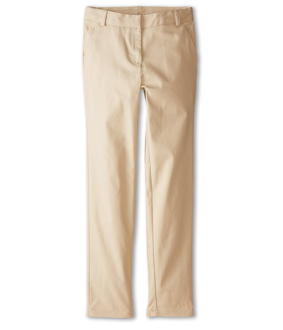 Nautica Kids Skinny Pants Big Kids Su Khaki Girls Casual Pants