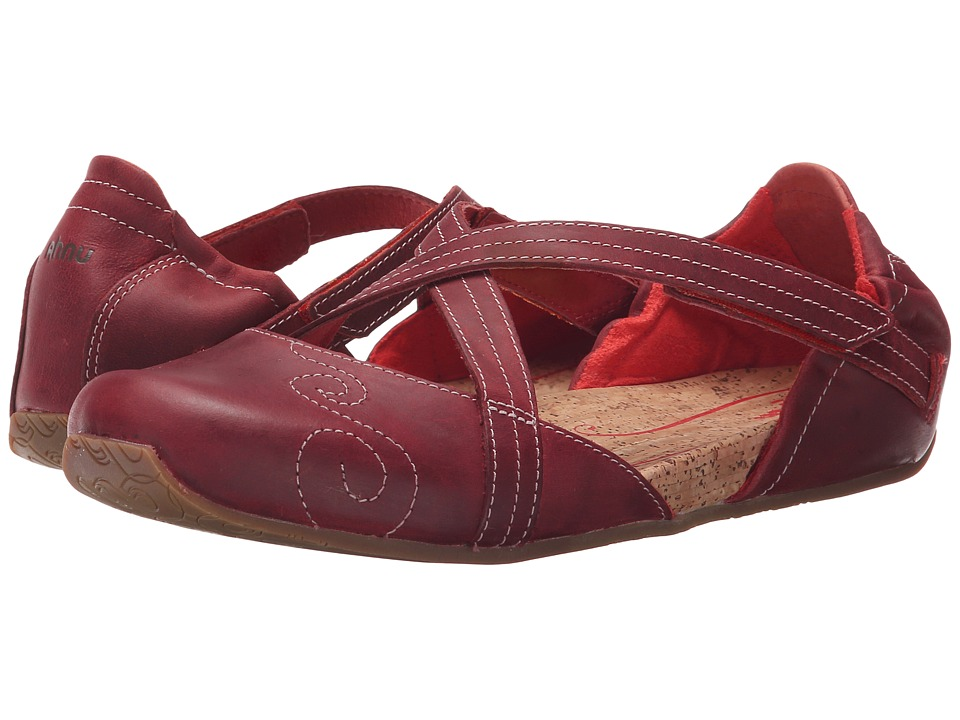 Ahnu Karma Latitude Leather (Red Stone) Women