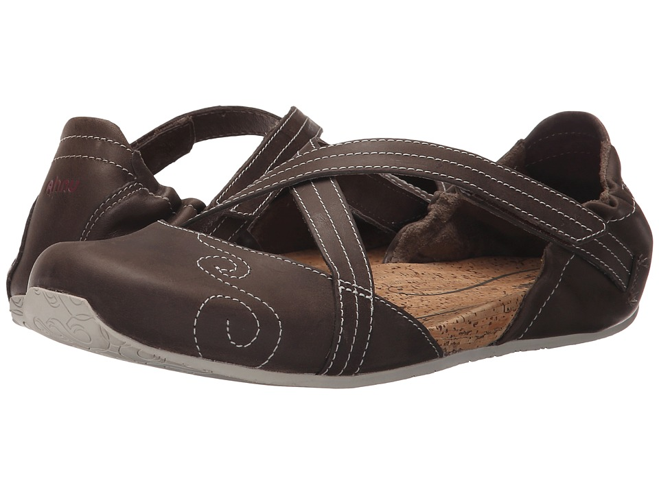 Ahnu Karma Latitude Leather Alder Bark Womens Shoes