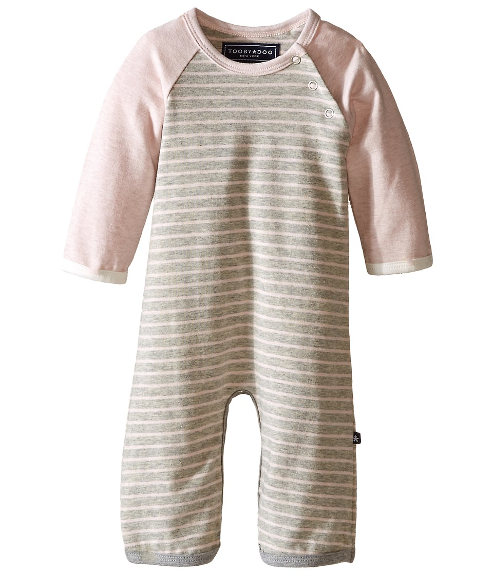 Toobydoo Chloe Bootcut Jumpsuit Infant Light Pink Girls Jumpsuit Rompers One Piece