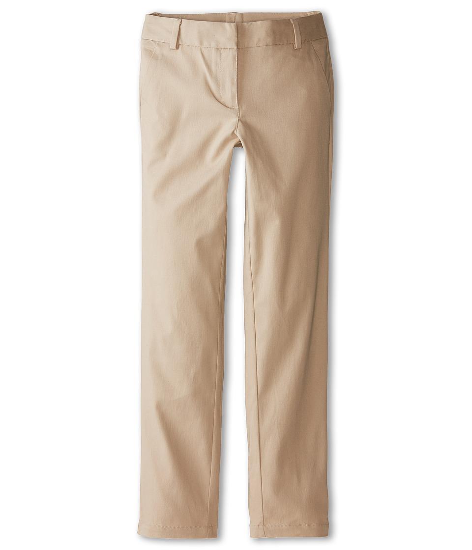 Nautica Kids Stretch Twill Skinny Pants Big Kids Su Khaki Girls Casual Pants