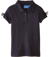 Nautica Kids - Polo with Ruffle & Bow Sleeve (Little Kids)