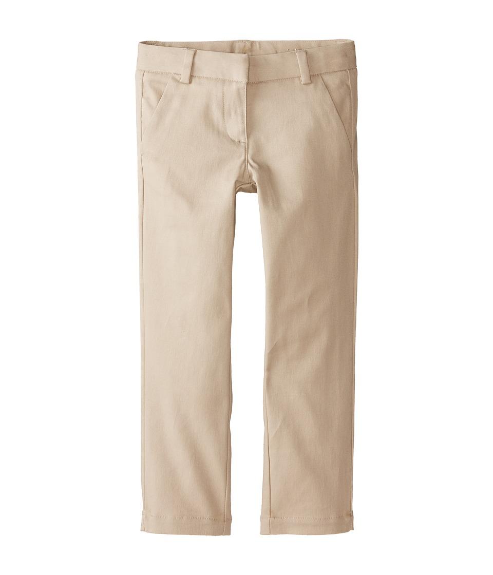 Nautica Kids Stretch Twill Skinny Pants Little Kids Su Khaki Girls Casual Pants