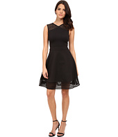Ted Baker - Eleese Mesh Detail Skater Dress