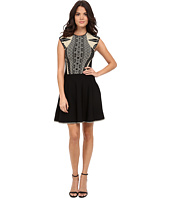 Ted Baker - Jenkin Knitted Jacquard Skater Dress