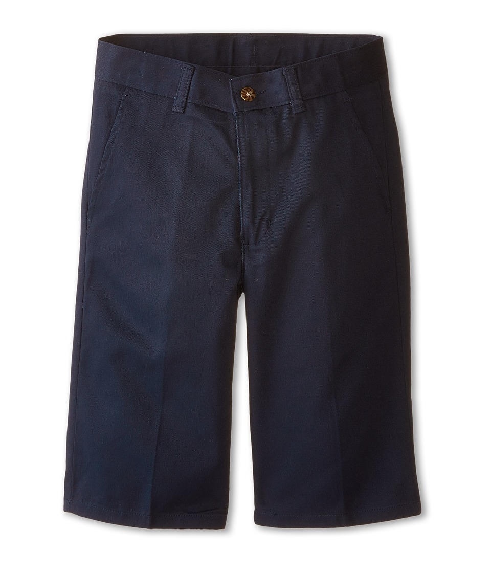 Nautica Kids Slim Fit Flat Front Twill Shorts Big Kids Navy Boys Shorts