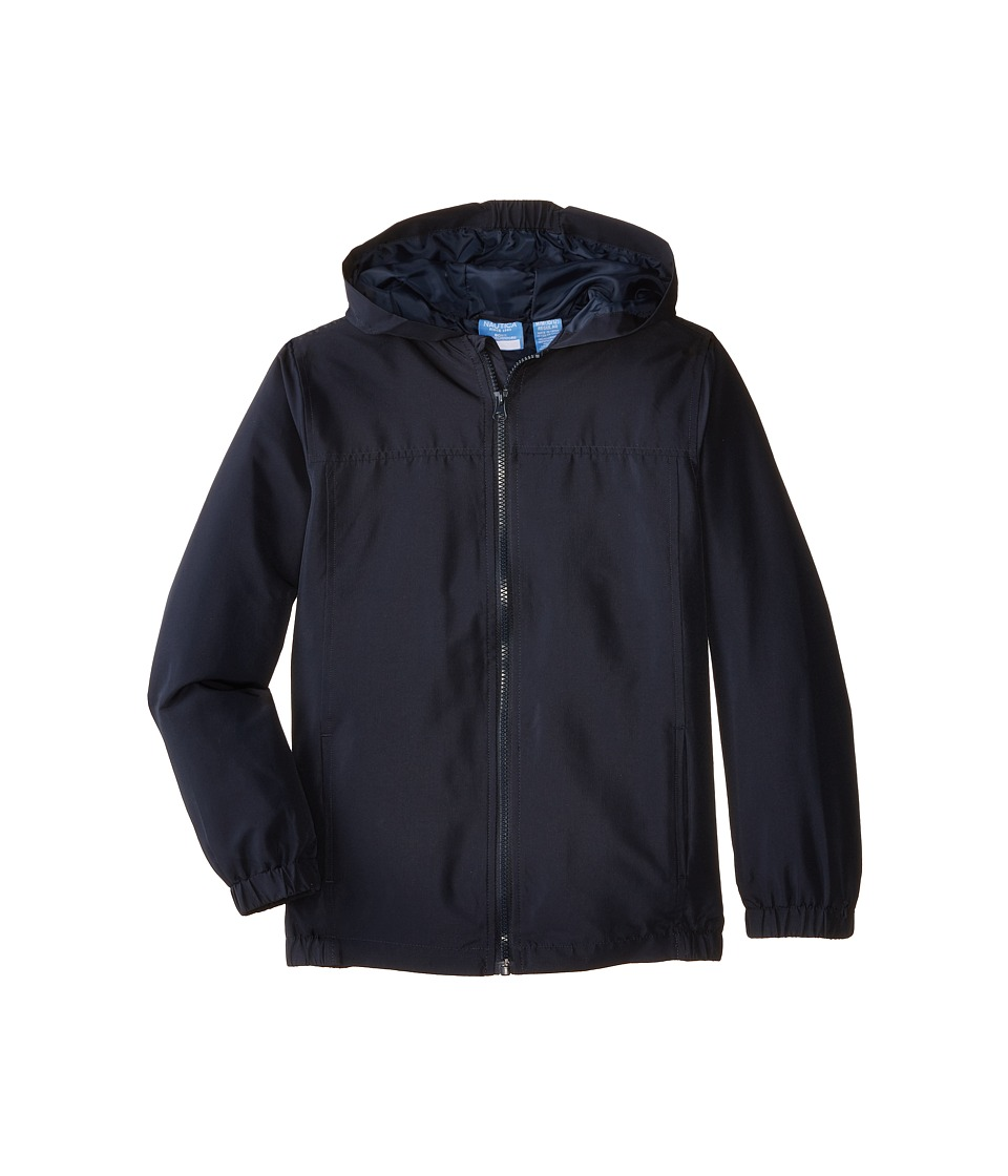 Nautica Kids Packable Jacket Big Kids Navy Boys Coat