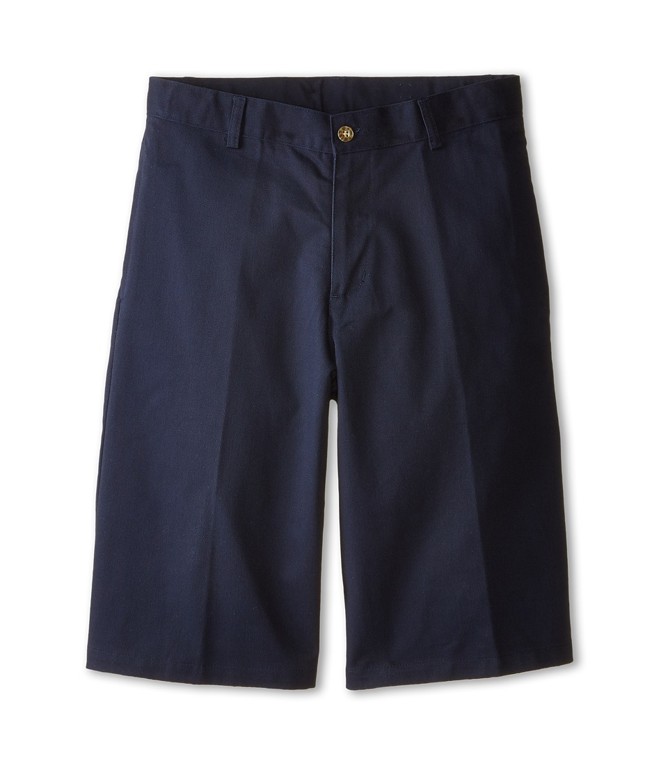 Nautica Kids Flat Front Twill Shorts Big Kids Navy Boys Shorts