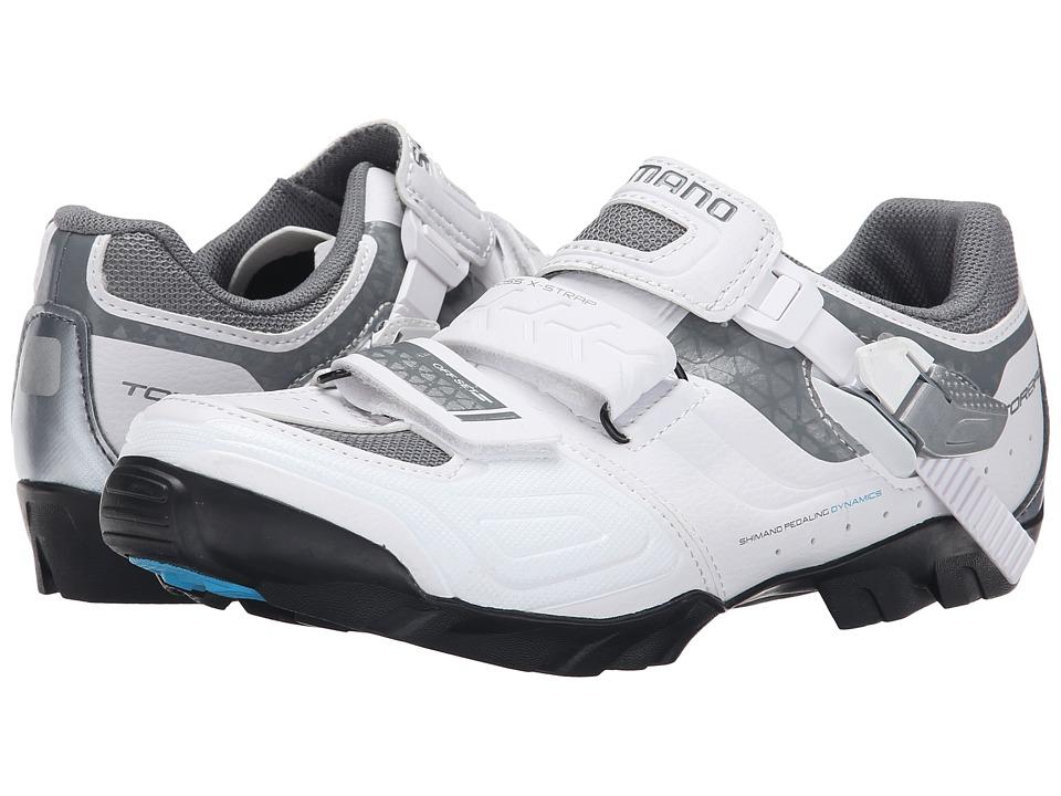 Shimano SH WM64L White Womens Cycling Shoes