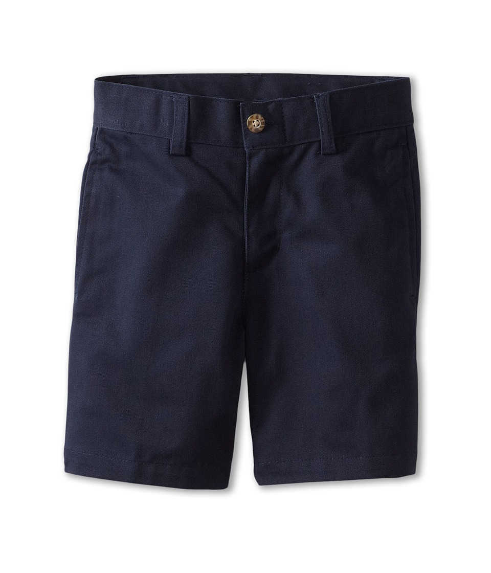 Nautica Kids Flat Front Twill Shorts Little Kids Navy Boys Shorts