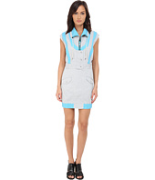 LOVE Moschino - Sporty High Neck Sleeveless Dress